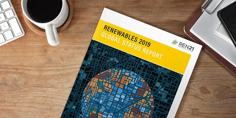 Portada informe 'Renewables 2019 Global Status Report'