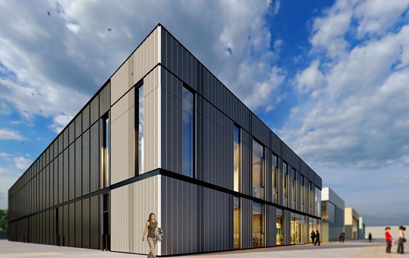 Futuro centro de investigación de energía de la Universidad de Sheffield.