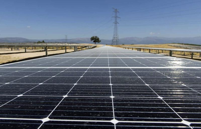 Planta fotovoltaica El Baldío en Cáceres
