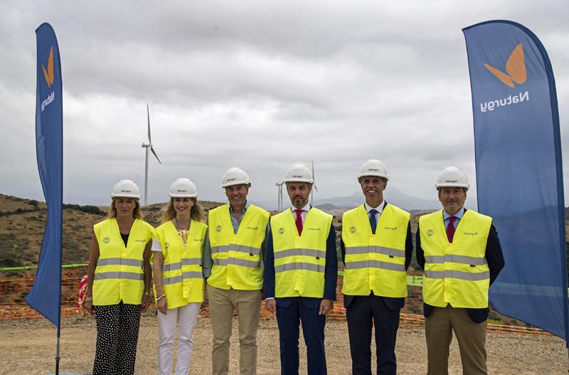 Visita a las obras del parque eólico El Tesorillo