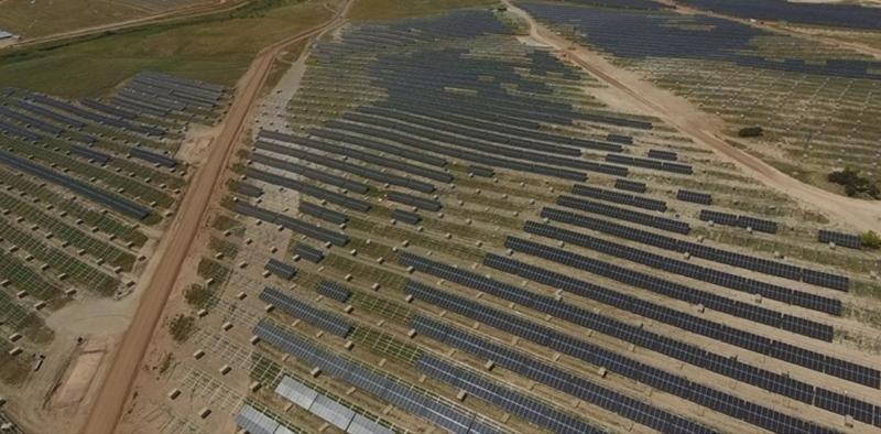 Evolución construcción proyecto fotovoltaico Núñez de Balboa