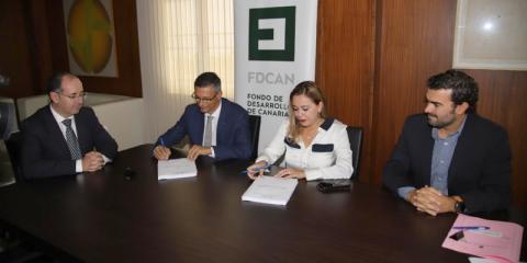 Firmado el contrato para la instalación y puesta en marcha del parque eólico Arrecife en Lanzarote