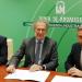 Firmado el contrato para el suministro eléctrico 100% renovable de los organismos públicos de Andalucía