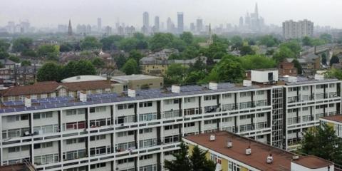 Residentes de Brixton, en el sur de Londres, podrán probar un sistema inteligente de energía flexible