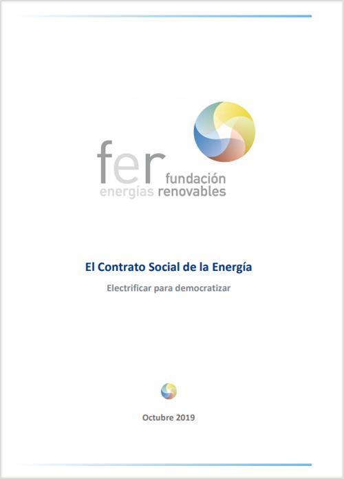 Portada del informe Portada del informe 'El Contrato Social de la Energía: Electrificar para democratizar'