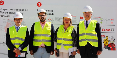 El parque eólico El Marquesado en el municipio gaditano de Puerto Real ya vierte energía a la red