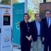 El primero de 18 nuevos puntos de carga rápida con energía sostenible en Madrid entra en funcionamiento en Vallecas