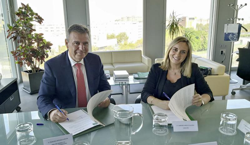 Acto de firma del protocolo general de colaboración