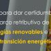El Gobierno aprueba un real decreto ley para la adaptación de parámetros retributivos de energías renovables