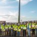 Comienzan las obras del primer parque eólico 100% municipal de la isla de Gran Canaria