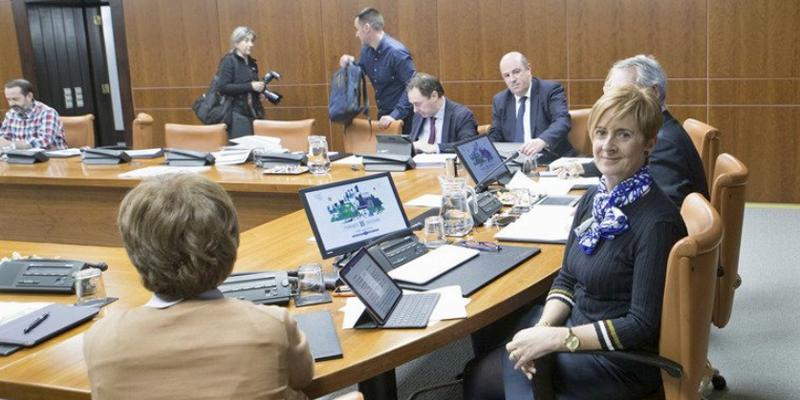 La consejera de Desarrollo Económico e Infraestructuras del Gobierno Vasco, Arantxa Tapia