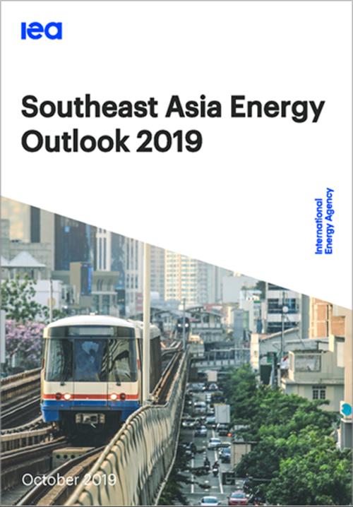 Portada del informe sudeste asiático energy Outlook 2019.