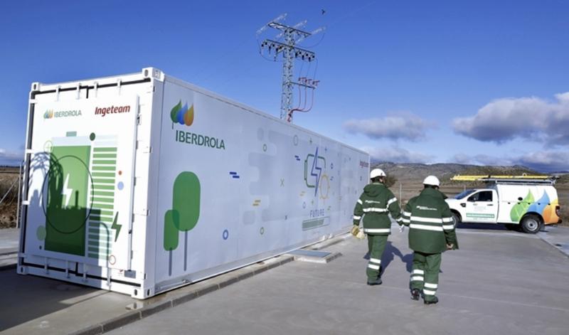 Sistema de almacenamiento con baterías en Caravaca de la Cruz (Murcia)