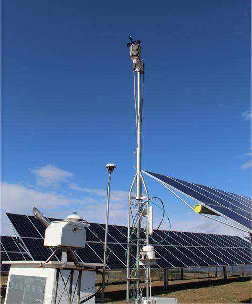 planta fotovoltaica experimental, Meteogune