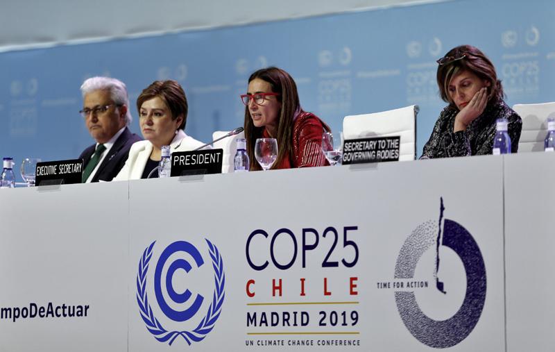 Presidenta de la COP25