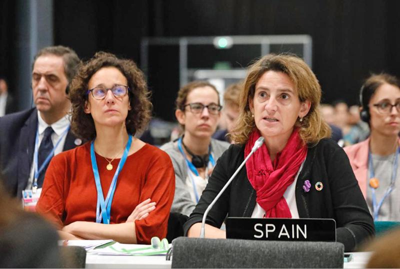 Ministra para la Transición Ecológica en España