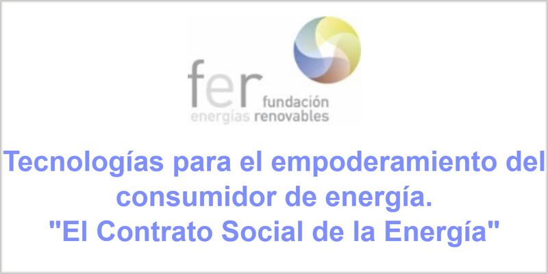 Cartel de la jornada de la Fundación Renovables