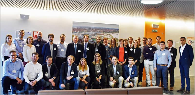 Miembros del proyecto europeo Parity