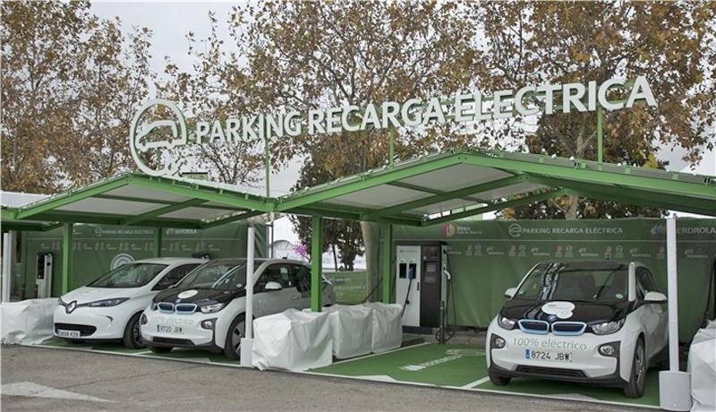 el nuevo parking de Ifema