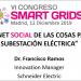 Internet social de las cosas para la subestación eléctrica