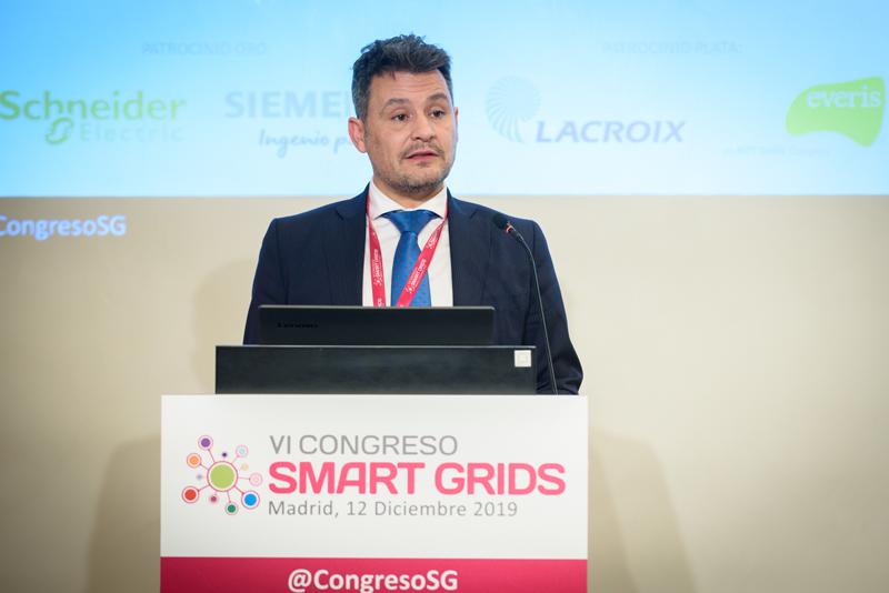 Raúl Suárez, presidente de FutuRed, durante la clausura del VI Congreso Smart Grids.