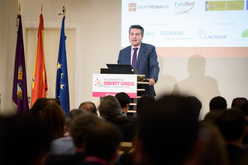 Francisco Barceló, vicepresidente de FutuRed, entidad coorganizadora del VI Congreso Smart Grids.