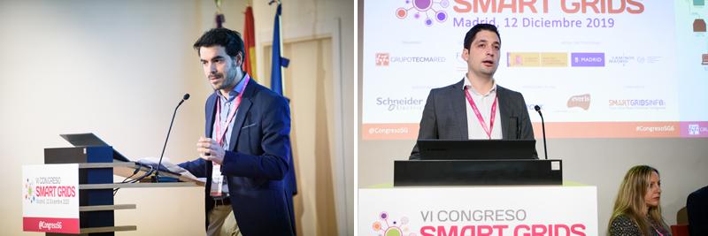 Alberto Sánchez, de Grupo Cuerva, y Jesús Torres, de Fundación CIRCE, impartieron una ponencia sobre TSN en Smart Grids.