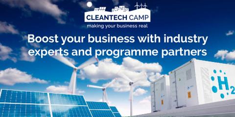 Abierto el plazo de presentación de propuestas a Cleantech Camp 2020 para acelerar la transición energética en Europa