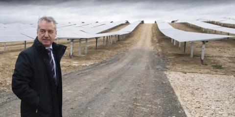 Entra en funcionamiento Ekian, el mayor parque solar del País Vasco que duplica la potencia instalada en la región