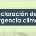 El Gobierno declara la emergencia climática en España y se compromete a desarrollar 30 líneas de acción