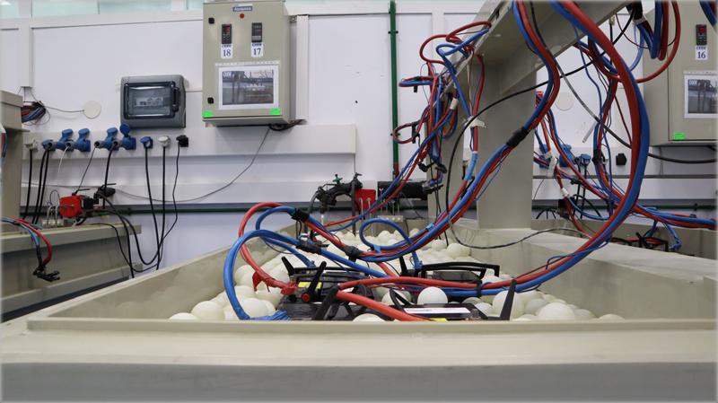 Instalaciones para la investigación de baterías