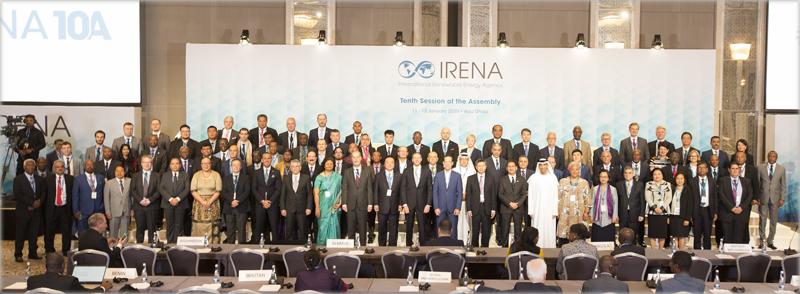 Foto de familia de la 10ª Asamblea de Irena