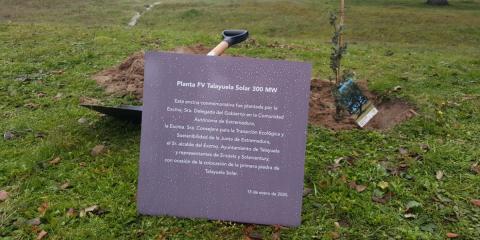Arrancan las obras de construcción de la planta extremeña Talayuela Solar de 300 MW