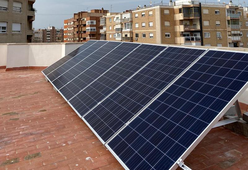 instalación fotovoltaica en azotea
