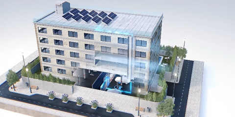 Turban: novedoso sistema minieólico para núcleos urbanos y edificaciones en general