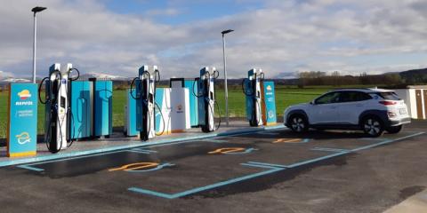 Experiencias en la recarga de vehículos eléctricos a alta potencia
