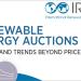 Informe de Irena 'Subastas de energías renovables: estado y tendencias más allá del precio'