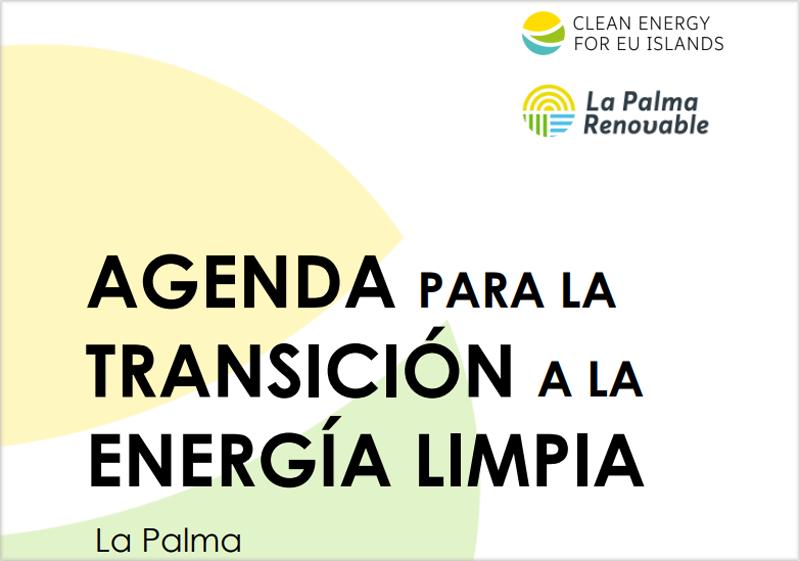 Agenda para la transición a la energía limpia de La Palma