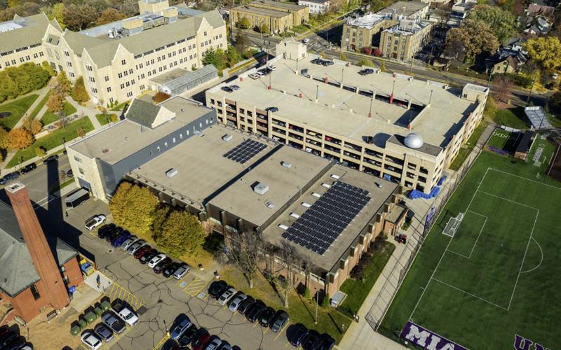 paneles solares para el Centro de Investigación de Microgrid
