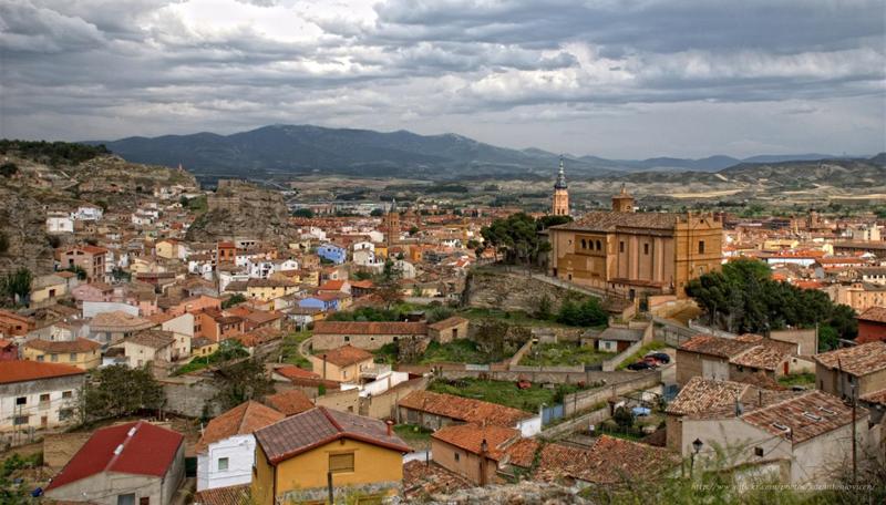 Vista aérea de Calatayud