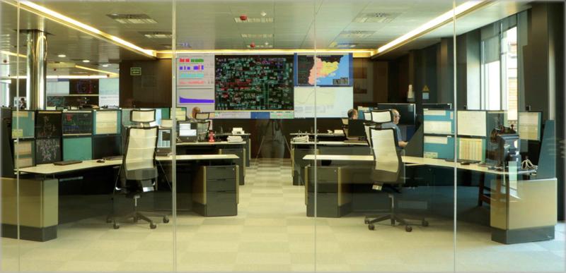 Centro de control de Endesa