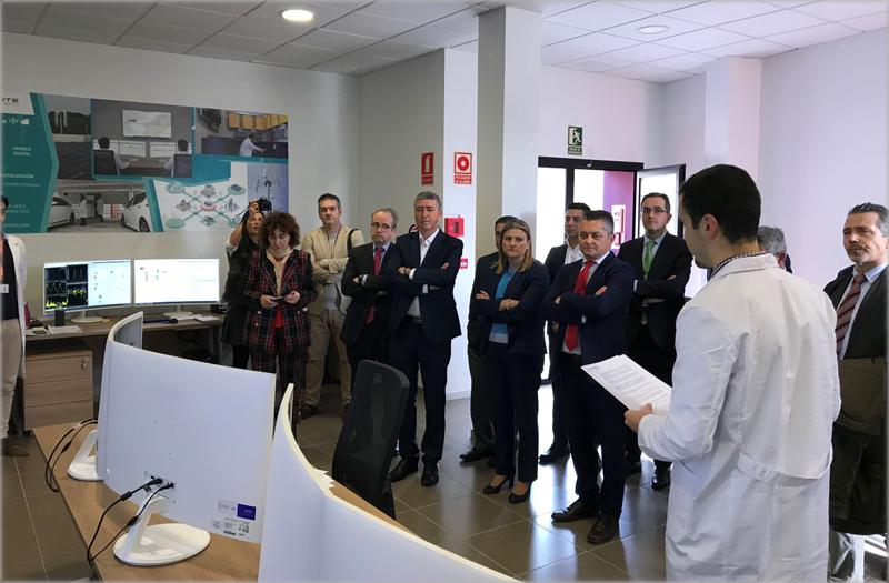 Acto de presentación del nuevo laboratorio