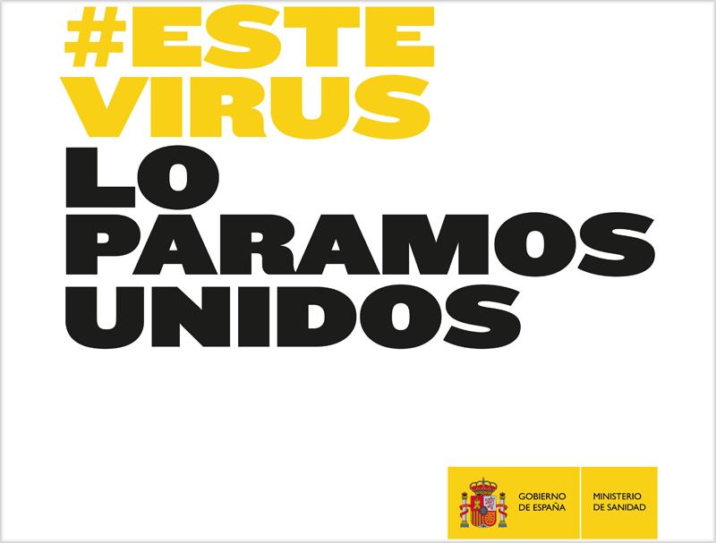 Logo #EsteVirusLoParamosUnidos