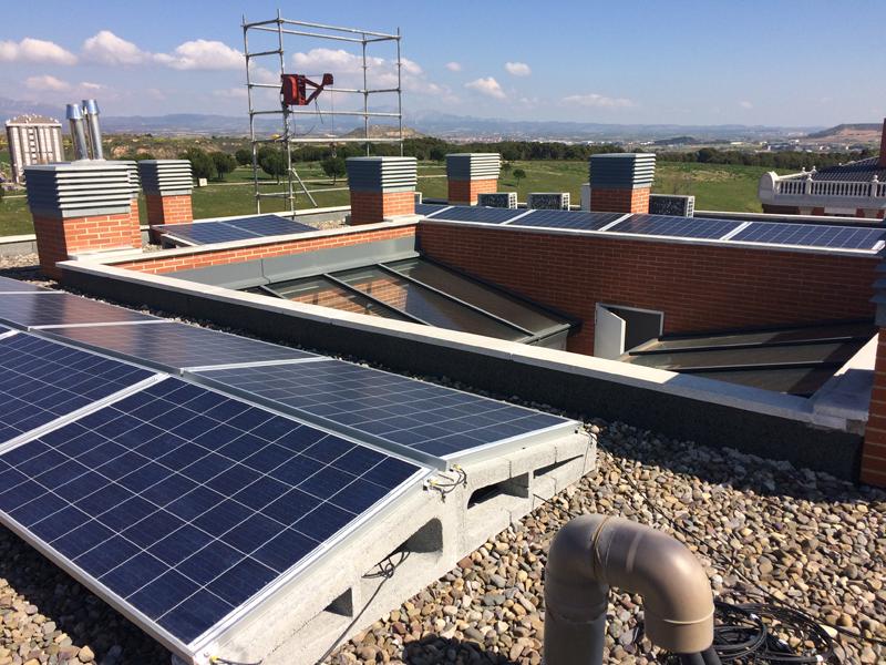 Instalación de autoconsumo fotovoltaico compartido