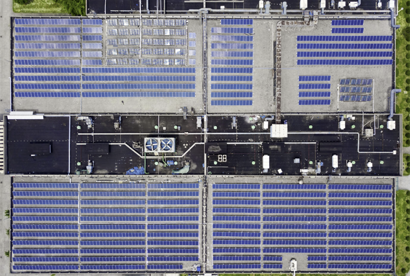Planta fotovoltaica en azotea