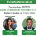 Los webinars gratuitos #CharlasRenovables analizarán el Decreto Ley 16/2020 y los nuevos códigos de red