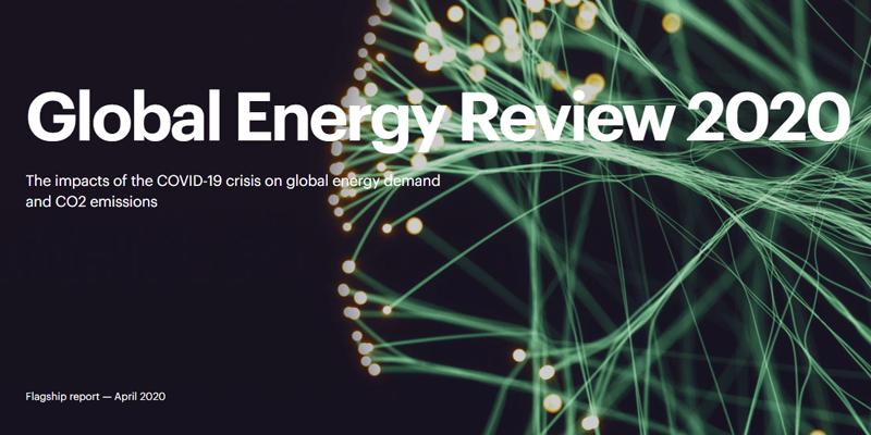 Portada informe Global Energy Review 2020