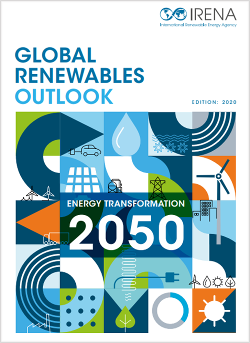 Portada del informe Global Renewables Outlook