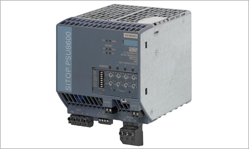 Unidad Sitop PSU8600 de Siemens.