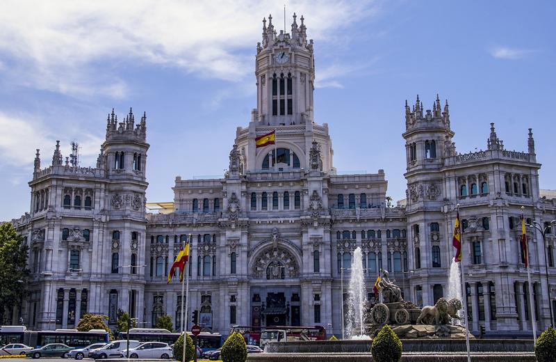 Fachada Ayuntamiento de Madrid